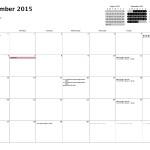 Calendar — Month — 2015-09-01 to 2015-09-30